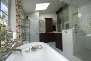 Frameless shower door in Wyckoff, NJ