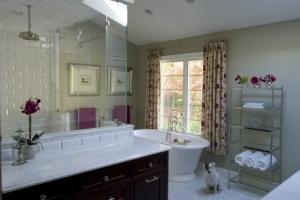 Master bathroom in Wyckoff, NJ
