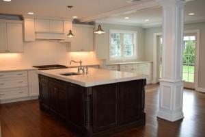 Two tone kitchen in Ridgewood, NJ