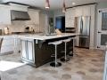 Transitional kitchen in Riverdael, NJ