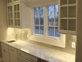 Glass front cabinetry in Monclair, NJ