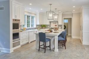 transitional kitchen design in Wyckoff, NJ