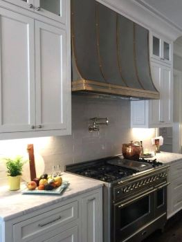 Custom range hoods are unique beautiful and pricey