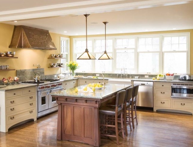 Everyone wants a custom island in their remodeled kitchen