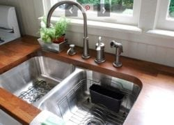 an undermount sink can help make the most of your kitchen space
