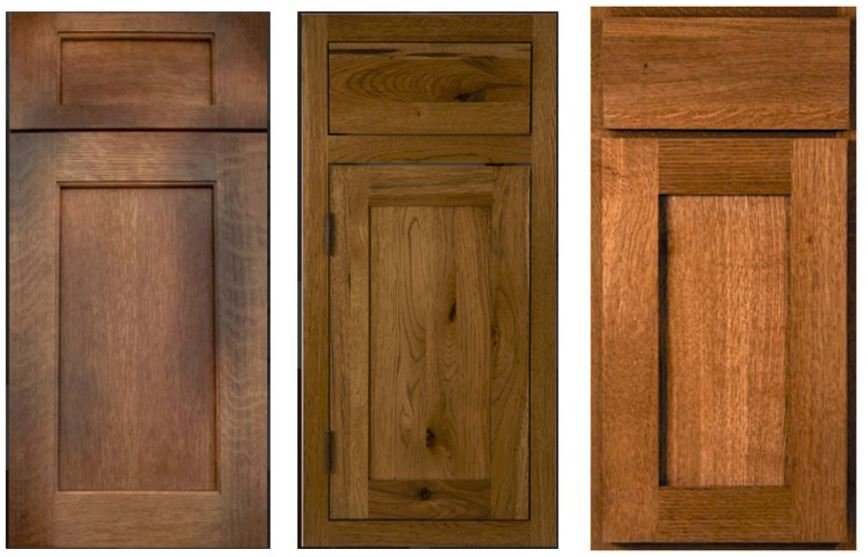 Most popular door styles as chosen by Craig Allen Designs customers