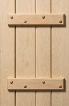 photo showing battens on the back of a cabinet door