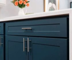 bar pull cabinet handles can create a sense of openness