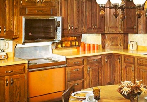 An ugly out-dated kitchen can be the reason for a kitchen remodel
