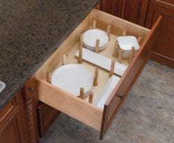 Store your dishes in this deep drawer in your new kitchen