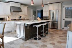 Transitional kitchen Riverdael, NJ