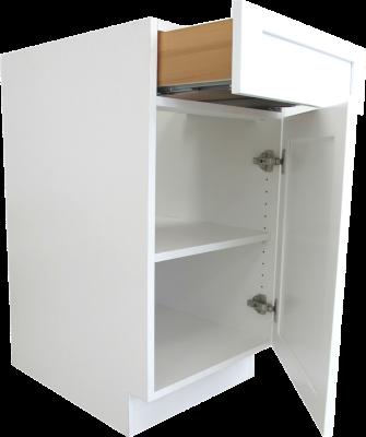 A frameless cabinet