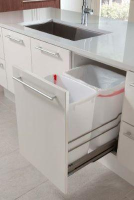 pull out trash cabinet